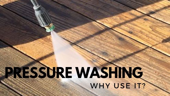 Top Reasons to use Pressure Washing