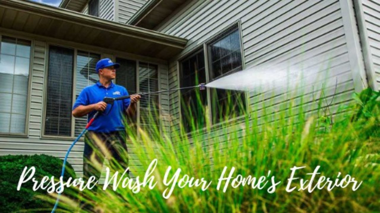 How To Pressure Wash Your Home Exterior A Guide For Homeowners