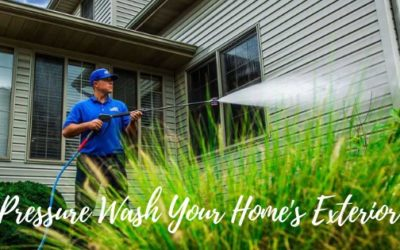 How to Pressure Wash Your Home Exterior