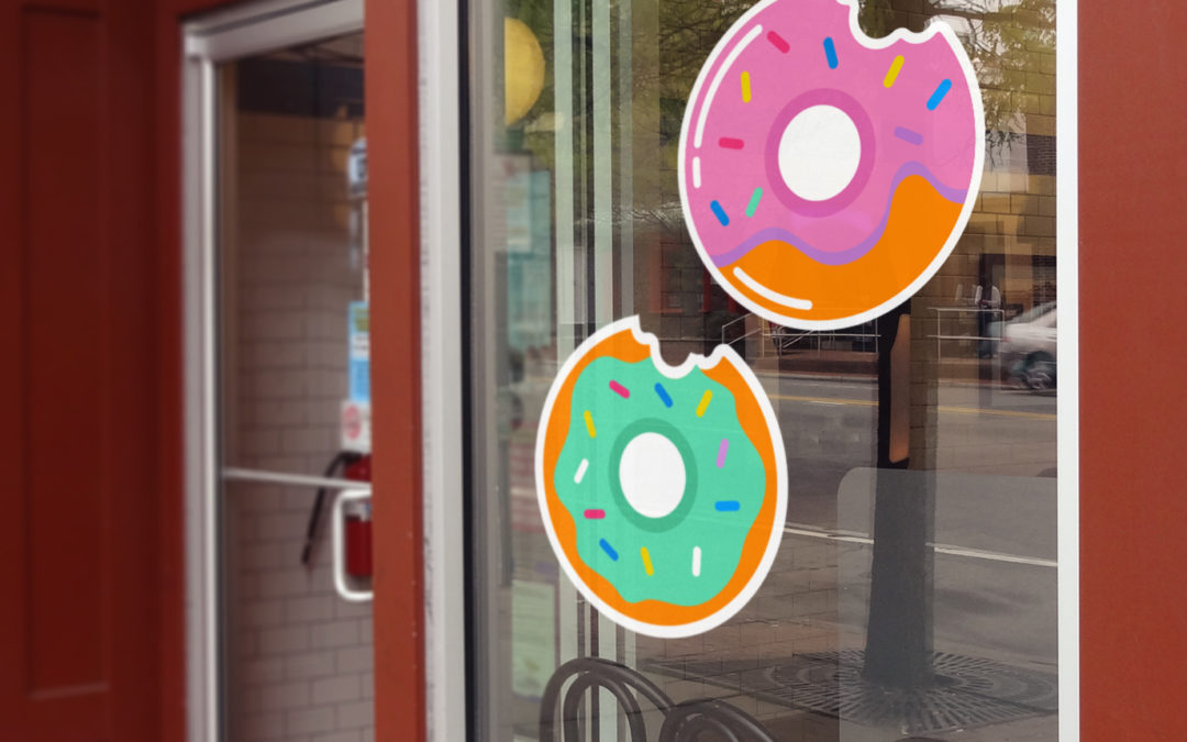 How to remove old stickers and decals from windows at home or on your storefront glass