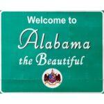 Alabama the Beautiful sign